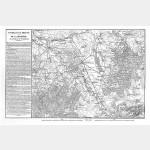 BRIENNE et la ROTHIERE champ de bataille avec texte historique - format 88 cm x