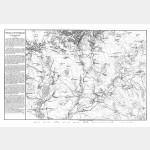 AUSTERLITZ bataille (2-12-1805) avec texte historique - format 95 cm x 60 cm