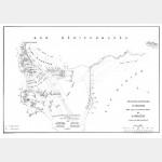 ABOUKIR bataille (11-7-1799) avec emplacement des troupes - format 46 cm x 32 cm