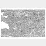 Cartes de Cassini n°171 et 175 - Carhaix-Plouguer / Brest - Impression Offset