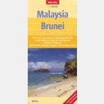 Malaisie - Brunei (Nelles Map)