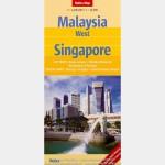 Malaisie Ouest - Singapour (Nelles Map)