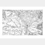 Carte de Cassini n°80 - Chalons-Sur-Marne - Impression Taille-Douce