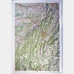Carte en relief Chartreuse - Vercors IGN