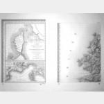 Calvi - Corse de Tranchot de 1824 (Taille-Douce)