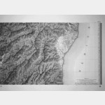 Aleria - Corse de Tranchot de 1824 (Taille-Douce)