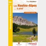 Topoguide FFR - Les Hautes-Alpes à pied - D005 - recto
