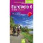 EUROVELO 6 ATLANTIQUE de Bâle à Nevers - Guide chamina (Guide)