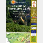 LE TOUR DE BOURGOGNE A VELO (carte Eurovélo n°5)