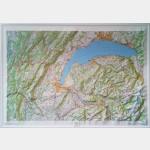 Haut-Jura - Léman - Carte en Relief