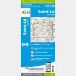SAINT-LÔ.SAINT-SAUVEUR-LENDELIN (Carte)