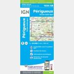 PERIGUEUX - TOCANE - SAINT-APRE (Carte)