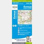 1913SB - Évreux / Conches-en-Ouche - recto