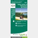 1M924 - Voies vertes et véloroutes de France