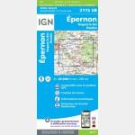 EPERNON.NOGENT-LE-ROI.HOUDAN (Carte)