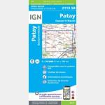 PATAY.OUZOUER - LE-MARCHE (Carte)