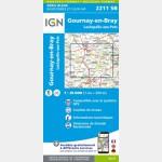 2211SB - GOURNAY-EN-BRAY/LACHAPELLE-AUX-POTS - recto