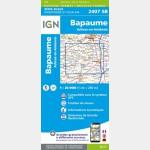 BAPAUME - ACHEUX-EN-AMIENOIS (Carte)