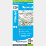 CLERMONT - ESTREES-SAINT-DENIS (Carte)