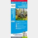 TOP25 Forêt de Fontainebleau (Gps) - Résistante - recto