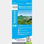 2435OT - Monts du Cantal, PNR des Volcans d'Auvergne - Recto