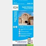 Saint-Chinian / l'Etang de Montady (Gps) (Carte)