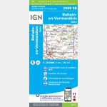 BOHAIN-EN-VERMANDOIS.VILLERS-OUTREAUX (Carte)