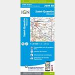 SAINT-QUENTIN (Carte)
