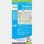 TERGNIER.LA FERE.FORÊTS ST-GOBAIN-COUCY (Carte)