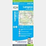 LANGEAC.LAVOÛTE-CHILHAC (Carte)