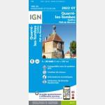 Quarre-Les-Tombes/Saulieu/Pnr du Morvan (Gps) (Carte)