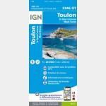 Toulon/Le Gros-Cerveau/Mont-Faron (Gps)