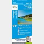 3425OT - Pontarlier/Levier/Lac de Saint-Point - recto