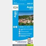 Aups-Salernes (Gps)