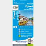 3518OT Epinal (Gps) (Carte)