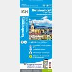 3519OT - Remiremont/Plombieres-Les-Bains/Pnr des Ballons des Vosges (Club Vosgien)