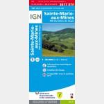 TOP25 Sainte-Marie-Aux-Mines/Pnr des Ballons des Vosges  (Club Vosgien) - Résistante - recto