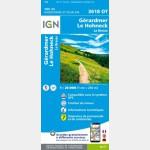 3618OT Le Hohneck/Gerardmer/La Bresse/Pnr des Ballons des Vosges (Club Vosgien) (Carte)