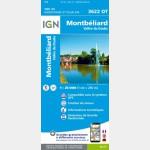 3622OT - Montbeliard / Vallée du Doubs - Recto