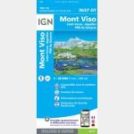 3637OT - Mont-Viso / Saint-Veran / Aiguilles / PNR du Queyras  - Recto