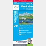 3637OTR - Mont-Viso / Saint-Veran / Aiguilles/ PNR du Queyras (Résistante) - Recto