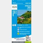 3721ET Huningue/Bâle/Sundgau (Club Vosgien) (Gps) (Carte)