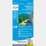 3814ET - Haguenau/Lembach/PNR des Vosges du Nord (Club Vosgien) (Gps)