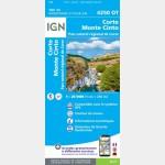 4250OT - Corte / Monte-Cinto / PNR de la Corse - Recto