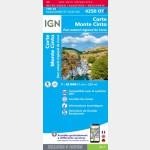 4250OTR - Corte / Monte-Cinto / PNR de la Corse (Résistante) - Verso
