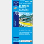 Carte Rando Le Marin/Ile des Trois-Ilets - recto