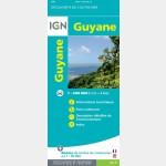 Carte de la Guyane - recto
