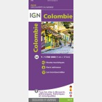 COLOMBIE (Carte)