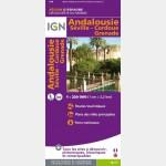 Carte de l'Andalousie - recto
