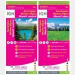 Auvergne - Rhône - Alpes / NR14 et NR15 /